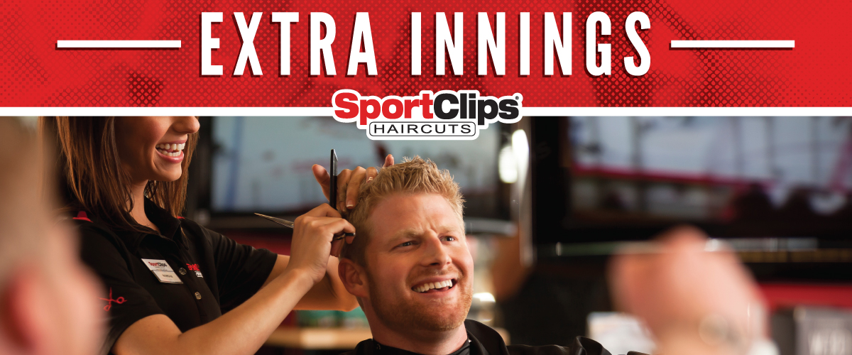 The Sport Clips Haircuts of Quail Springs Extra Innings Offerings